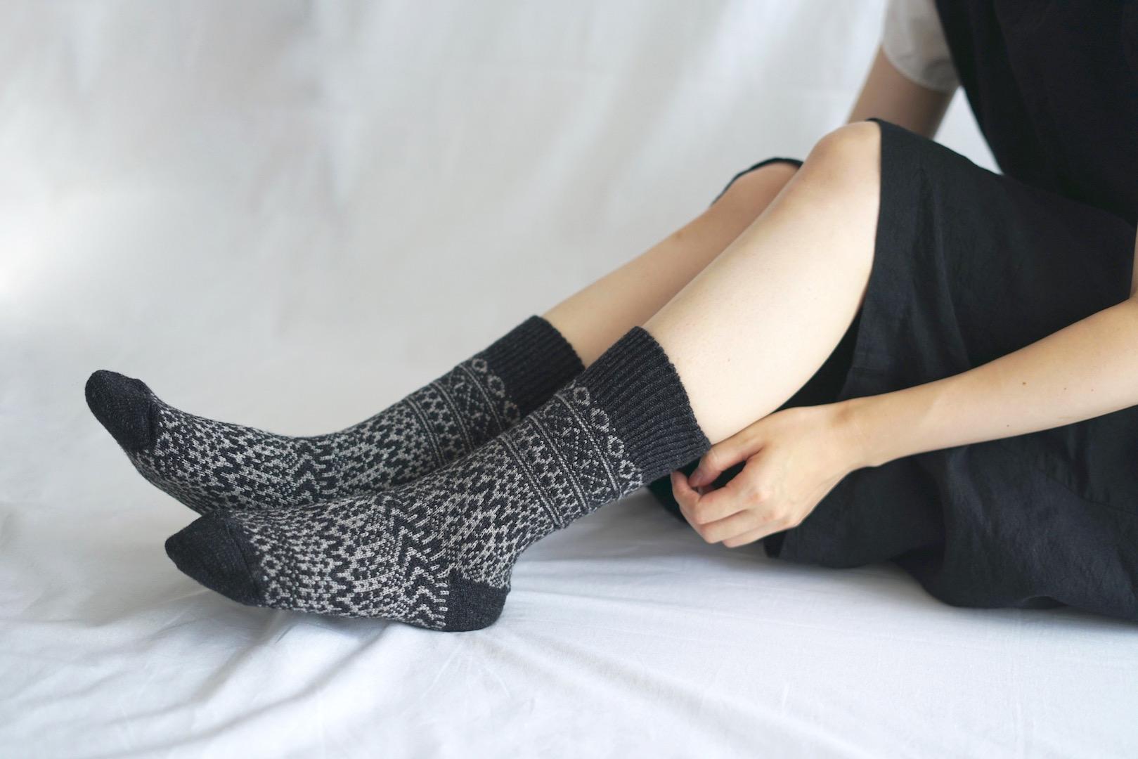 西口靴下6